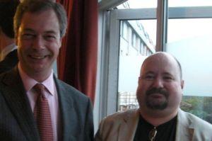 Andy Lovie and Nigel Farage