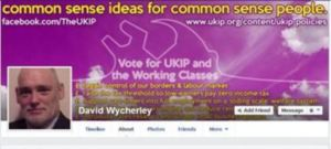 David Wycherley, a Ukip council candidate for Walsall, caused controversy with remarks about Mo Farah