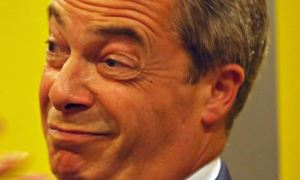 Farage. Photograph: David Cheskin/PA