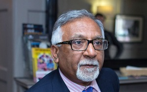 Amjad Bashir says that he is going over for practical reasons: only the Tories can achieve real change Photo: London News Pictures/REX