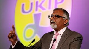 Ukip MEP Amjad Bashir has been suspended pending investigations. Credit: Gareth Fuller/PA