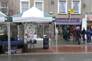 The Herne Bay market meant Nigel Farage's visit to the town was cancelled. Picture: Tony Flashman